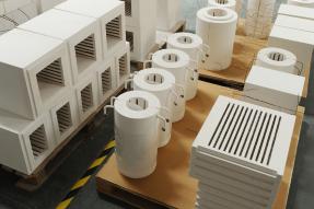 高温耐火陶瓷纤维炉胆